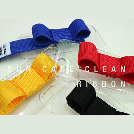 SECOND UNIQUE NAME iPhone・スマホケース 【NEW】「SECOND UNIQUE NAME」 CLEAR Ribbon EDITION 正規品(2)