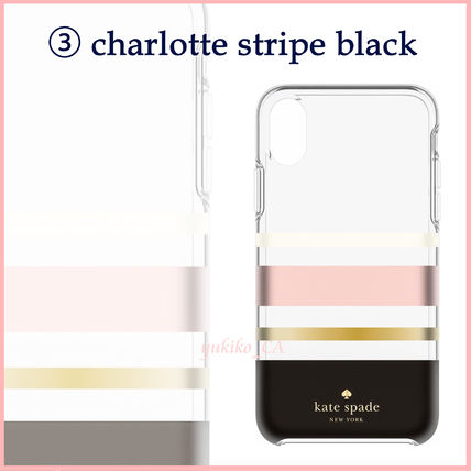 kate spade new york iPhone・スマホケース 【国内発送】選べる10色 kate spade iphone X case セール(4)