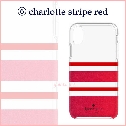 kate spade new york iPhone・スマホケース 【国内発送】選べる10色 kate spade iphone X case セール(7)