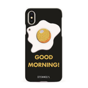 IPHORIA★iPhone X ケース★Good Morning Glitter