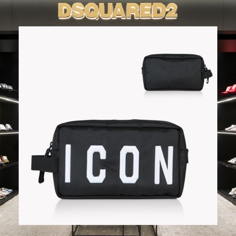 【18SS NEW】D SQUARED2_men/Icon トイレットバッグ