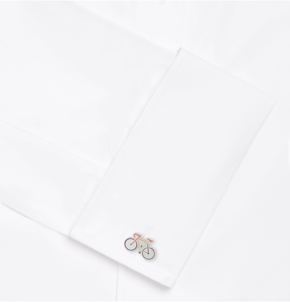 【VIPセール】Paul Smith★Bike Enamelled カフス Silver