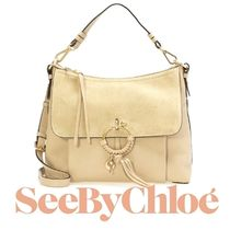 17秋冬 ☆See by Chloe☆ JOAN 2wayバッグ PEARL BEIGE♪