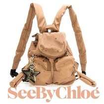 ☆See by Chloe☆ JOY RIDER Mini バックパック PEARL BEIGE♪