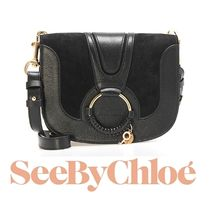 17秋冬新作 ☆See by Chloe☆ HANA Crossbody バッグ BLACK♪