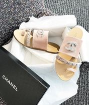 2018 CRUISE COLLECTION★CHANEL★CC chain sandals 各色