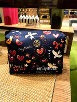 即発 TORY BURCH★LARGE BRIGITTE COSMETIC CASE ラージサイズ