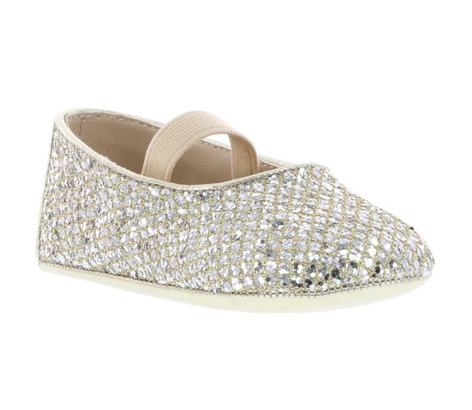 イヴァンカ Ivanka Trump Baby's Emma Metallic Mary Jane Flats