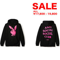SALE★ANTISOCIAL SOCIALCLUB x PLAY BOY パーカー/選べるサイズ