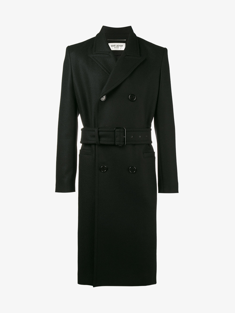 【関税送料込】17FW★SAINT LAURENT★double breasted overcoat