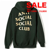 SALE★★ ANTI SOCIAL SOCIAL CLUB フーディ/GREEN/選べるサイズ