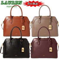 期間限定セール! Ralph Lauren Nora Medium Satchel 2way