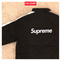 Supreme(シュプリーム) STADIUM PARKA/BLACK/M−XLサイズ