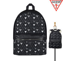 Guess★UNISEX トライアングルバックパック・リュック AH3A4A07