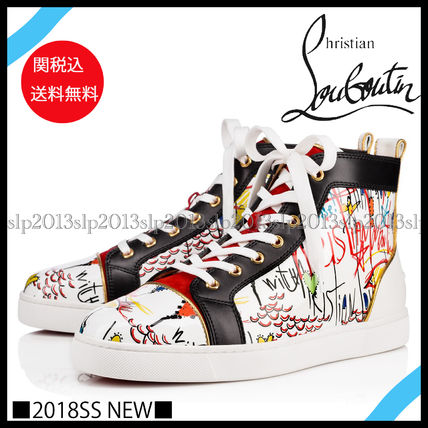 18New■Christian Louboutin■Louisプリントスニーカー☆関税込