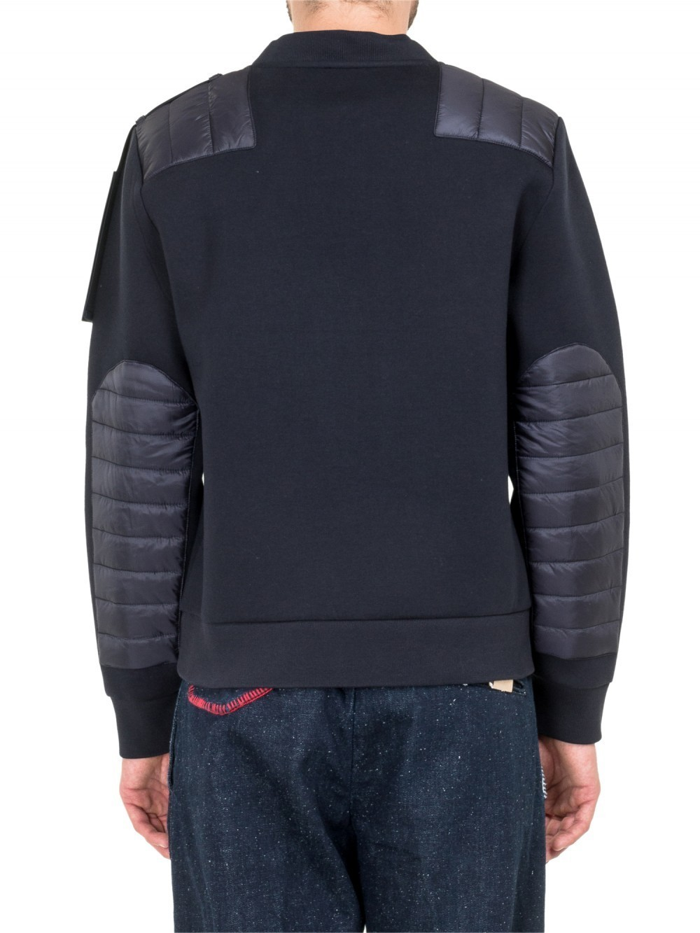 2017AW【MONCLER】C Padded Panelスウェット
