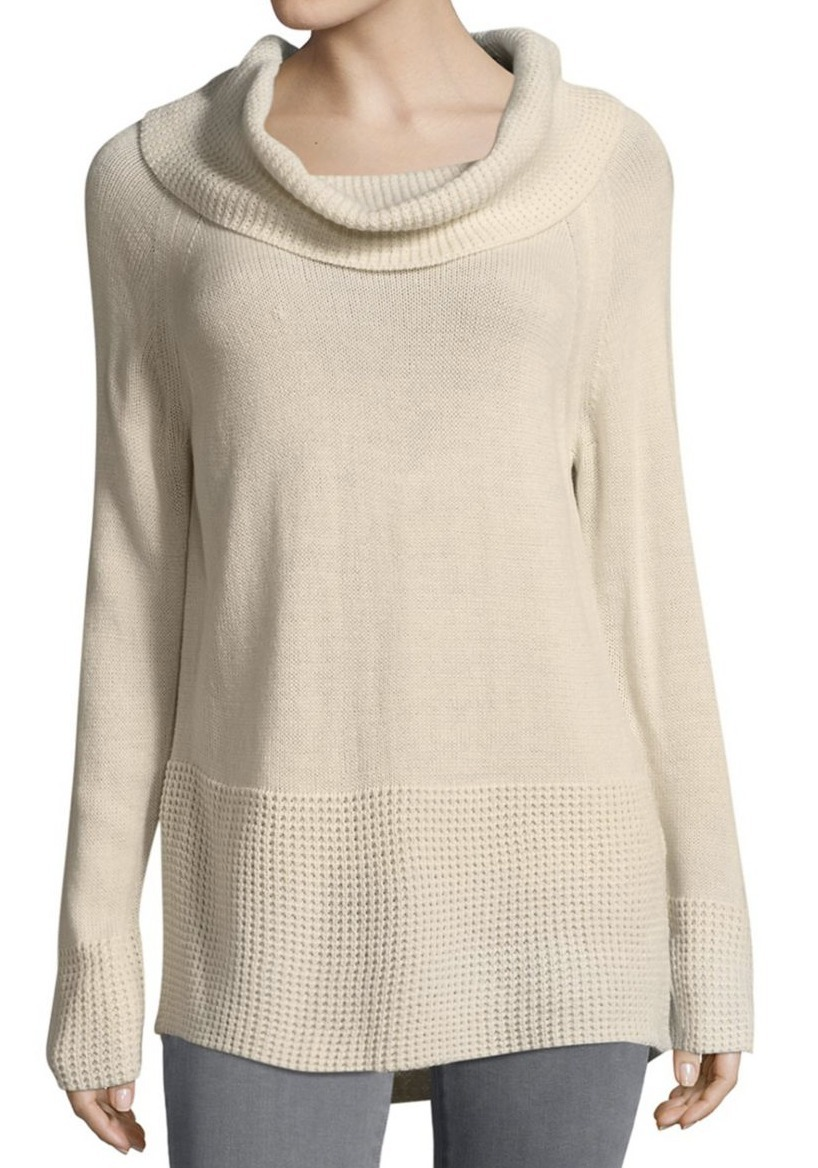 イヴァンカ Ivanka Trump Cowlneck Sweater