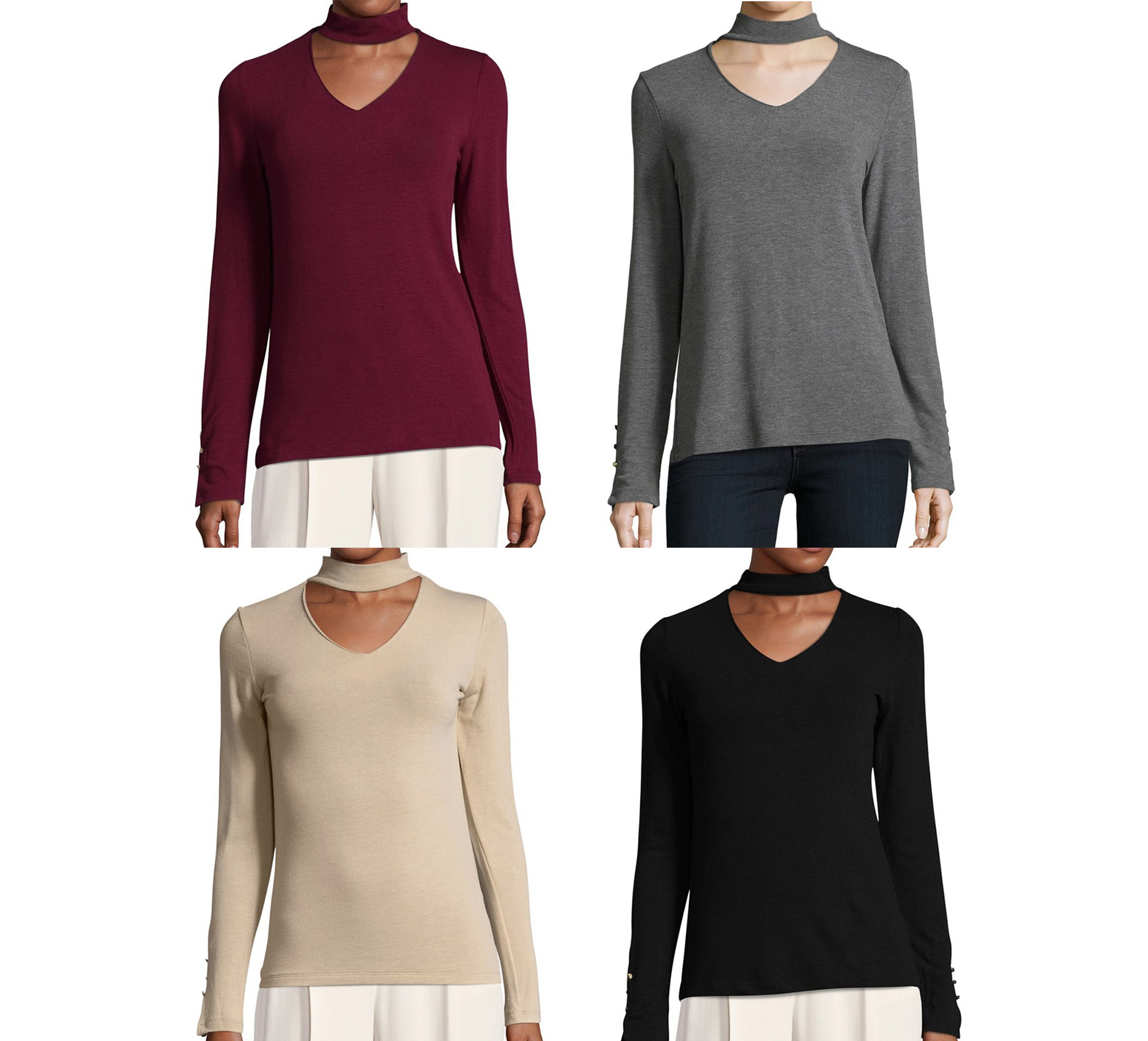 イヴァンカ Ivanka Trump Choker Sweater