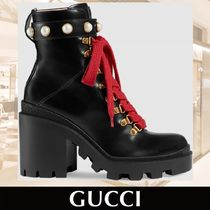 GUCCI Leather ankle boot★日本未入荷★ 関税送料込み