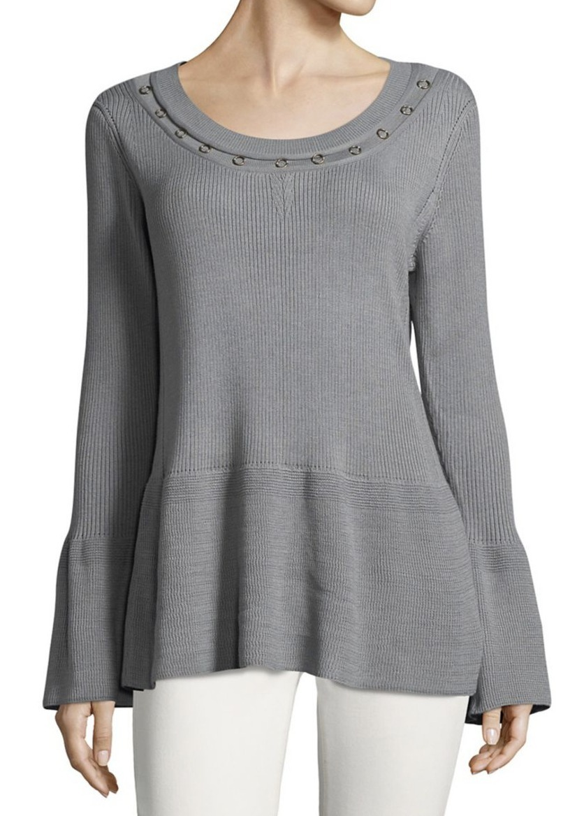 イヴァンカ Ivanka Trump Long-Sleeve Knit Top