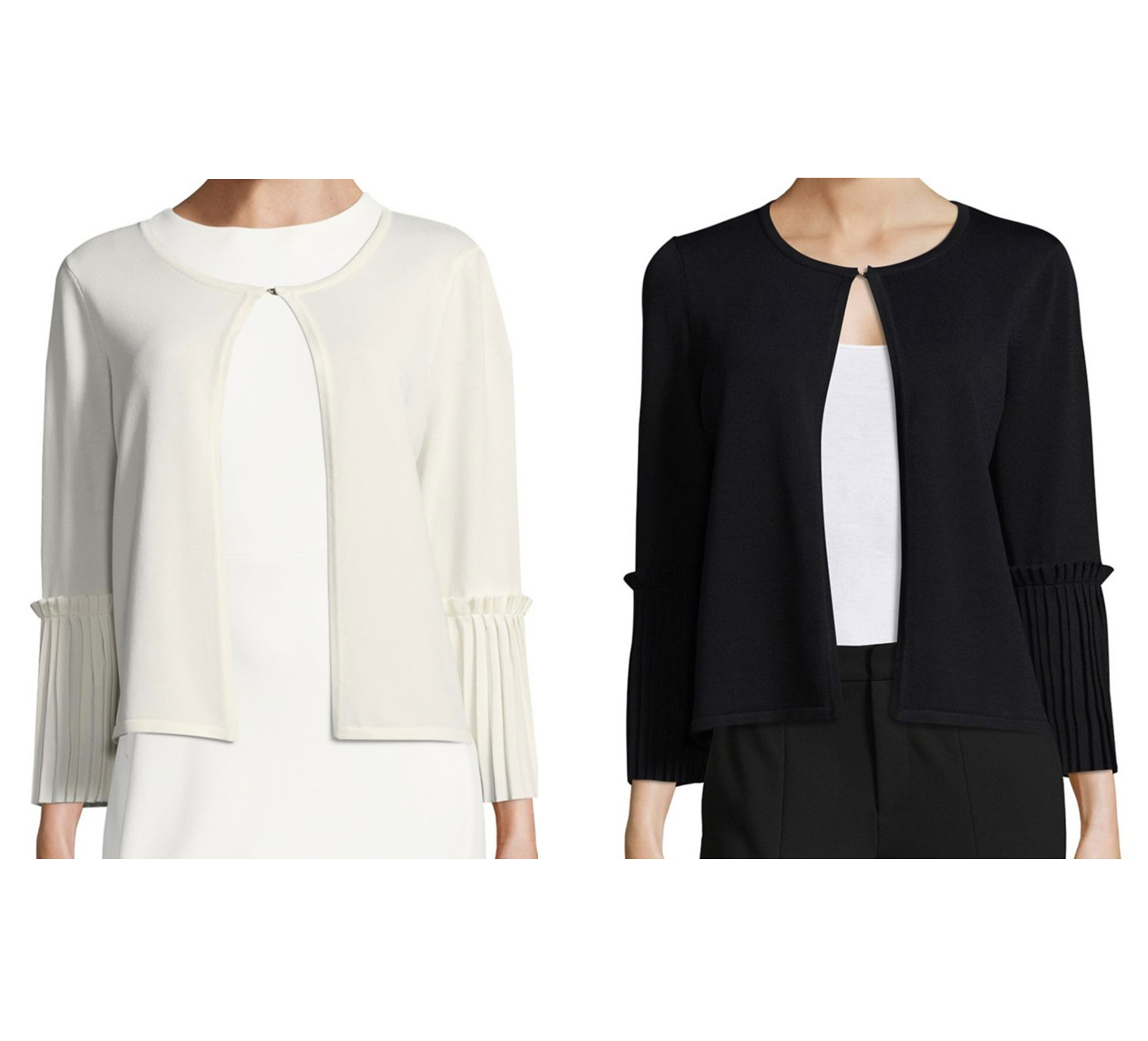 イヴァンカ Ivanka Trump Three-Quarter Sleeves Cardigan