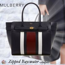 Mulberry☆Zipped Bayswater -Stripes-ストライプ柄