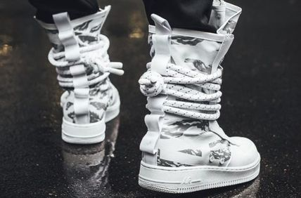 Nike スニーカー ★【NIKE】追跡発 Special Field Air Force 1 High Winter Camo(2)