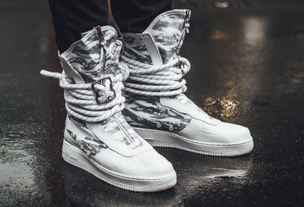 Nike スニーカー ★【NIKE】追跡発 Special Field Air Force 1 High Winter Camo(3)
