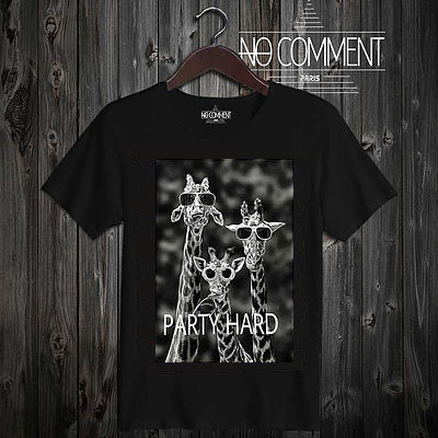 話題沸騰!!★NO COMMENT PARIS★ party hard 送料関税込