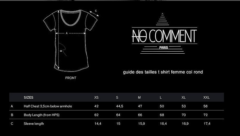話題沸騰!!★NO COMMENT PARIS★ yo 送料関税込