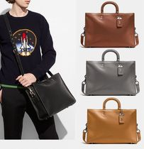 Coach ◆ 11647 Rogue brief Pebble Leather