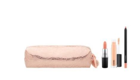 MAC☆限定(Snow Ball Nude Lip Bag)