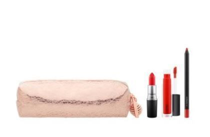 MAC☆限定(Snow Ball Red Lip Bag)