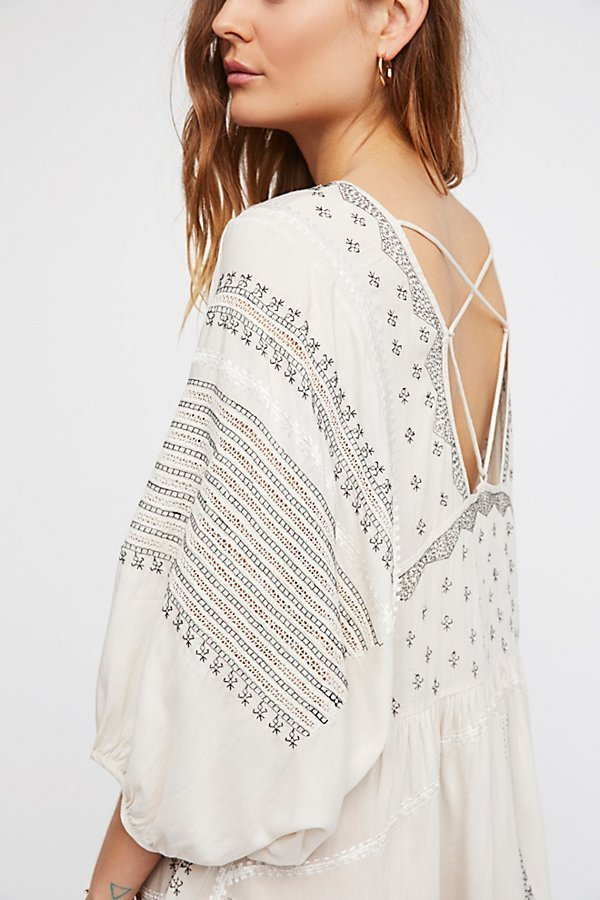 Free People フリーピープル Wild One Embroideredトップス