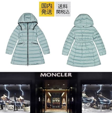 MONCLER キッズアウター 送料関税込!2018AW新作 MONCLER Charpal Hooded Coat