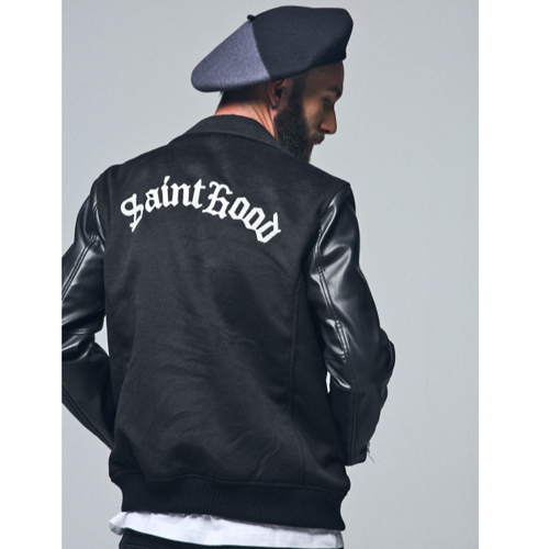 ★SAINTPAIN★日本未入荷/SP BLACKWALL MELTON RIDER JKT