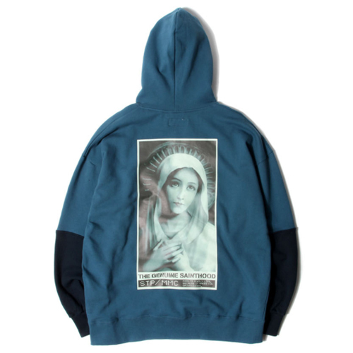 ★SAINTPAIN★日本未入荷[UNISEX] SP IDEAL HOOD LS(BL)