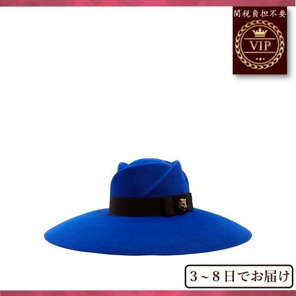 GUCCI▼Fur-felt wide-brim trilby hat