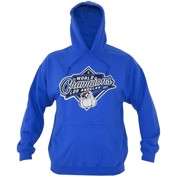 Tha Alumni Clothing 2017 WORLD CHAMPS HOODIE ROYAL