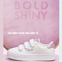 FILA★COURT DELUXE BOLD SHINY VC★メタリック★ベルクロ★2色