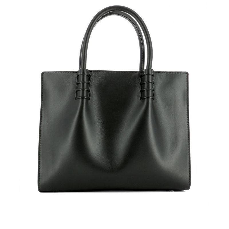 ◆◆VIP◆◆TOD'S トッズ Black leather handle bag