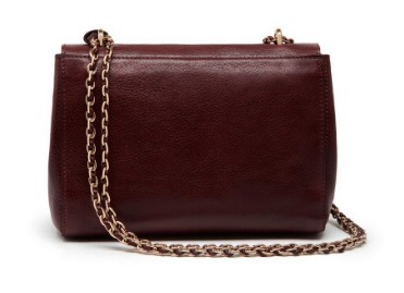 Mulberry Lily Oxbloodチェーンショルダーミニバッグ