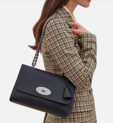 MulberryミディアムLily Midnight-Smallチェーンショルダー