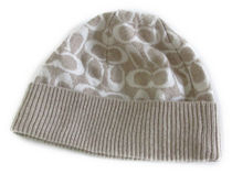 COACH Logo Knit Hat F86024