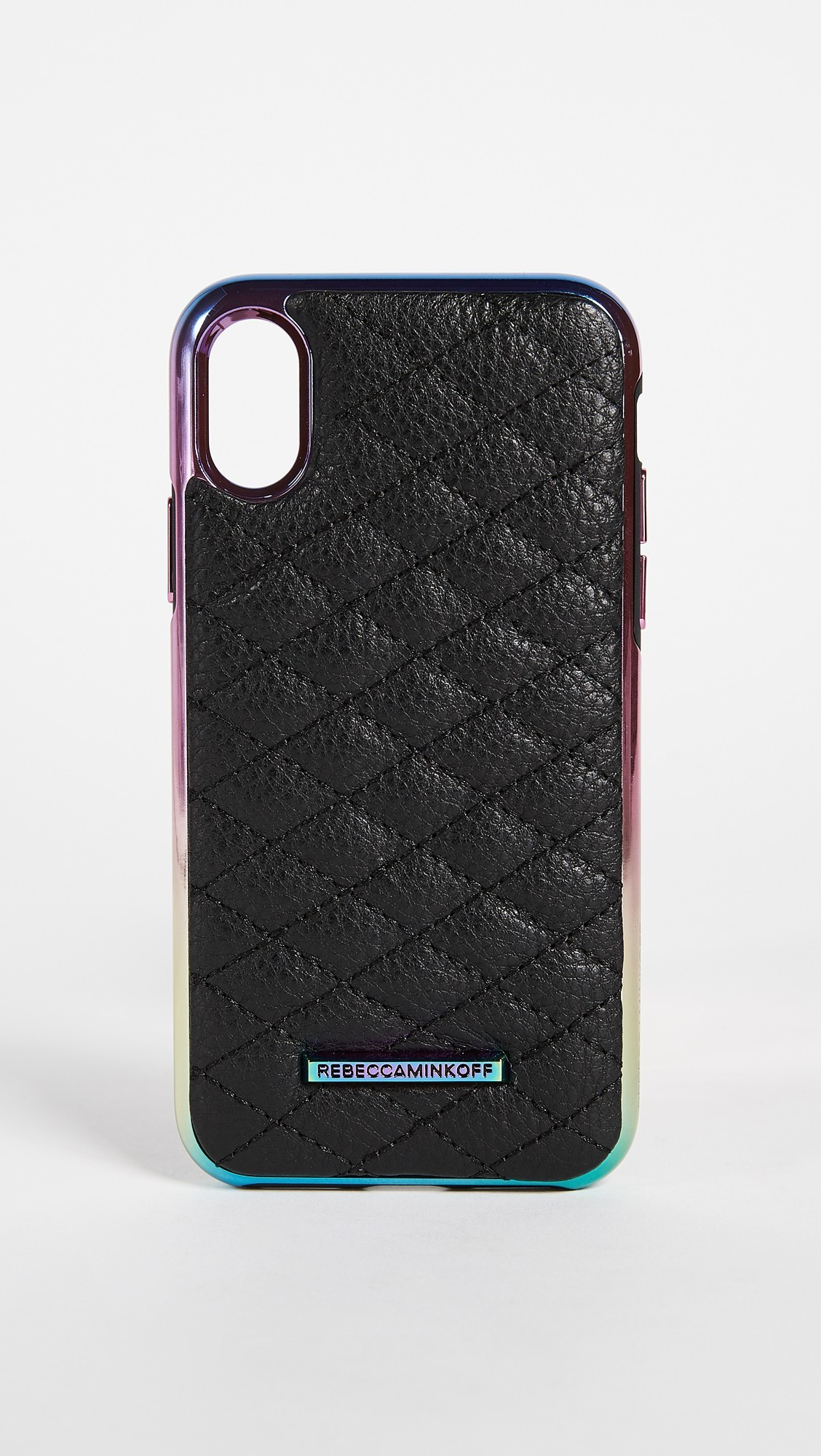 【国内発送,関税込】Rebecca Minkoff Quilted Love Oil Slick