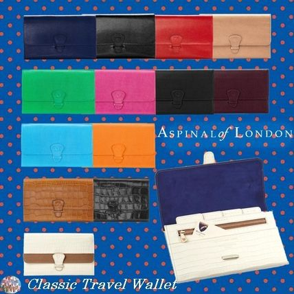 Aspinal of London☆Classic Travel Wallet カラー豊富!