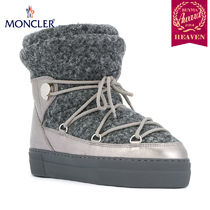 TOPセラー賞受賞!17/18秋冬┃MONCLER★SNOW BOOTS_グレー