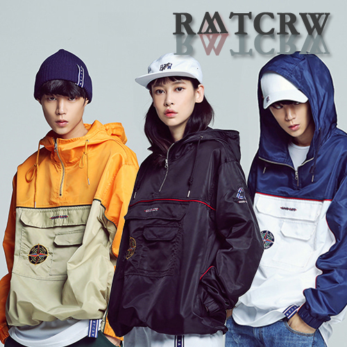 [ROMANTIC CROWN] Piping Anorak ★男女共用★