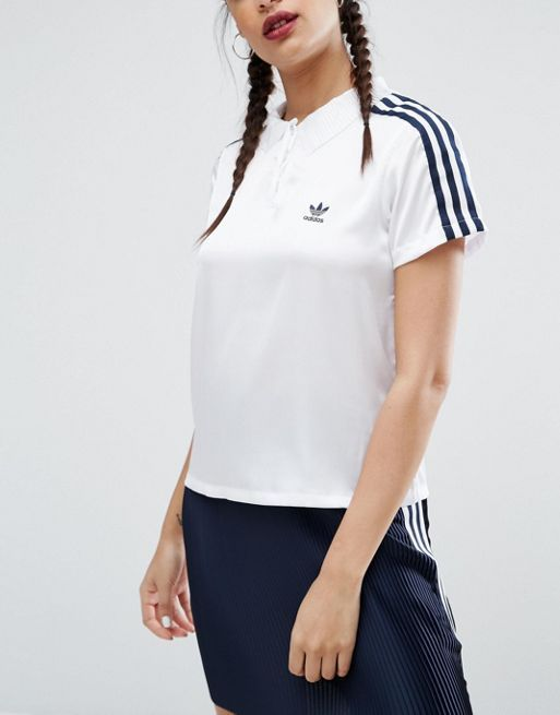送料込み adidas Originals Adicolor Deluxe Polo Shir トップス