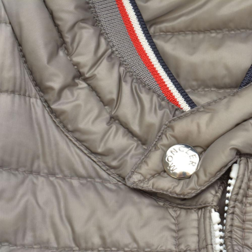 ◆Moncler モンクレール GARIN QUILTED ダウンジャケット Gray